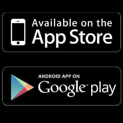 Иконка магазинов приложений Play Marker и App Store