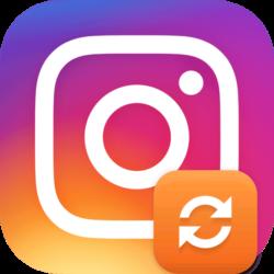 Иконка обновление Инстаграм